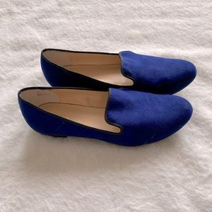 Cute royal blue loafers size 7